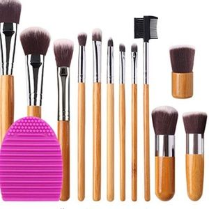 Other - Makeup Brush Set Foundation Blending Blush